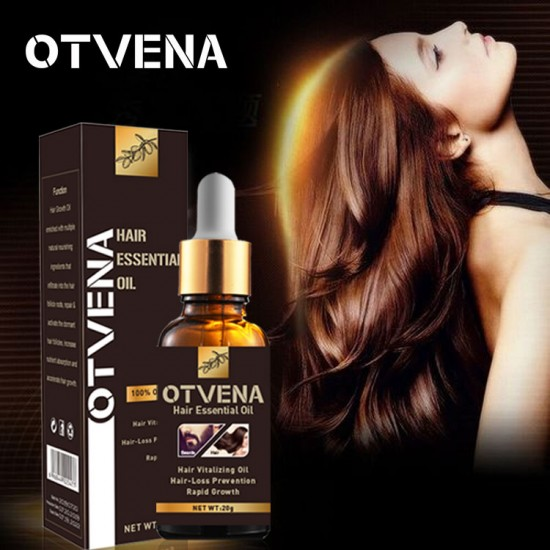 natural hair product for women OTVENA hair oil